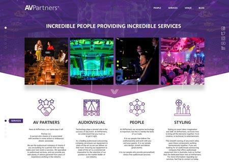 طرح های نورانی و درخشان در طراحی وب سایت