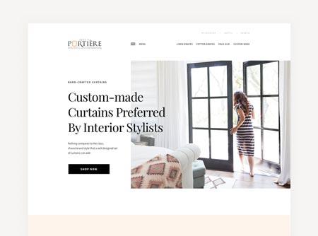 قاب های جامد و فضاهای سفید در طراحی وب